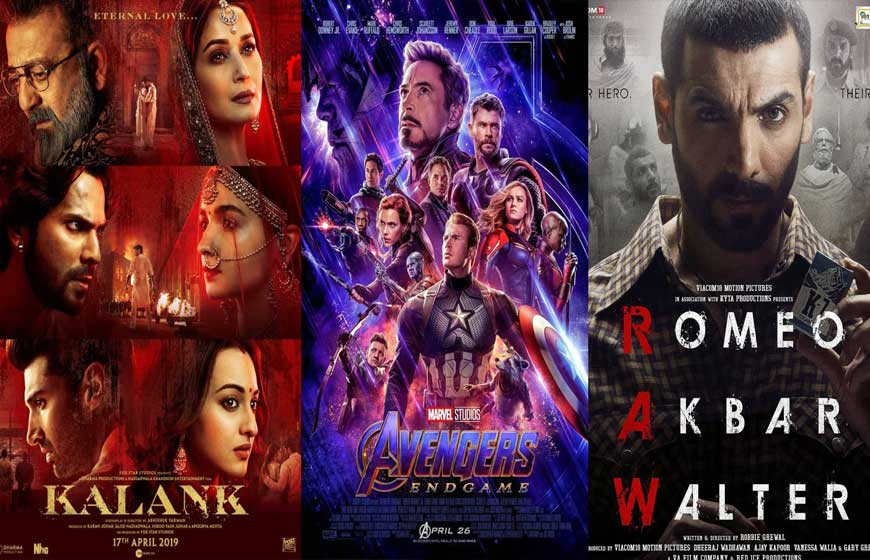 Bollywood Latest Movie Updates - April 2019
